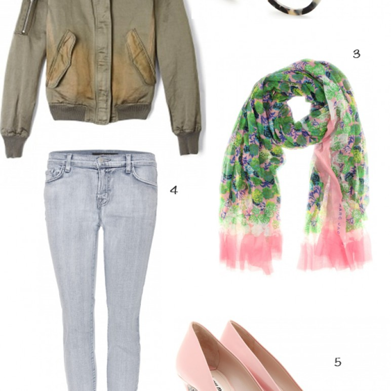 Outfit inspiration – On how to wear pink shoes