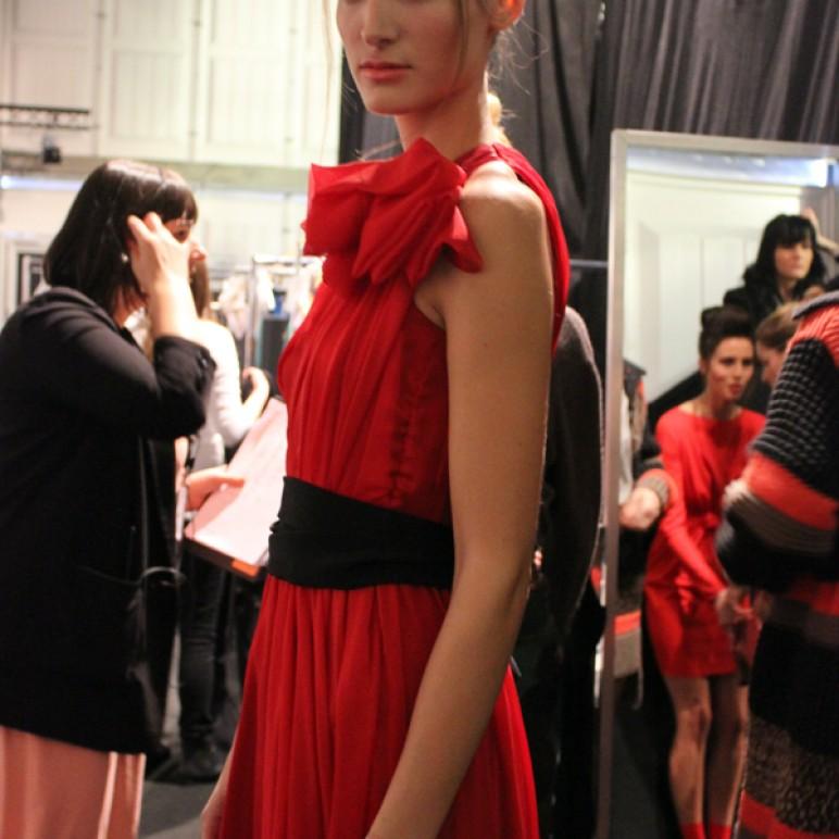 Berlin Fashion Week – Backstage at Zoe Ona
