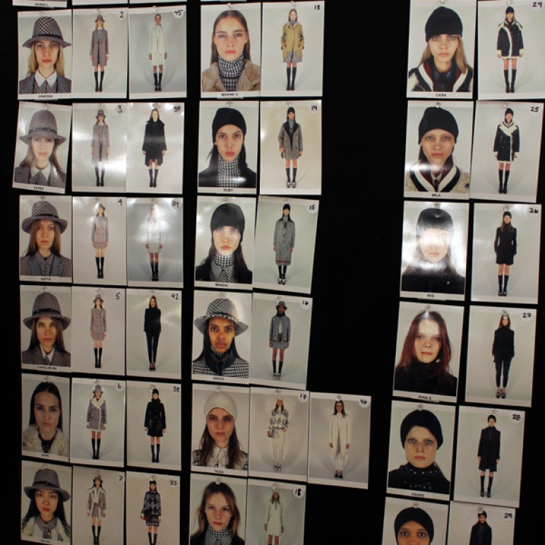 New York Fashion Week : Tommy Hilfiger Women's show + Backstage