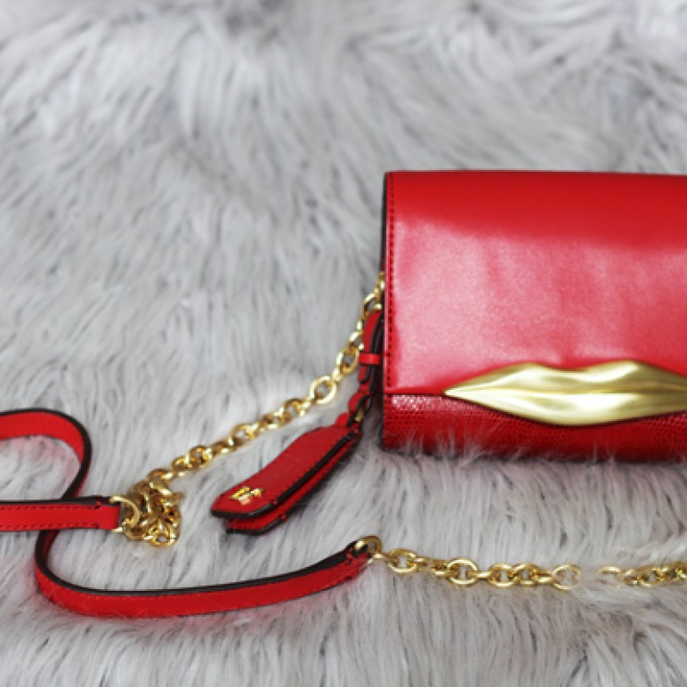 My First DVF Bag – Carolina Mini Lips Bag