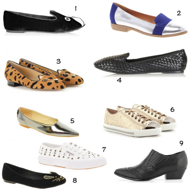 Flat shoes for Spring!