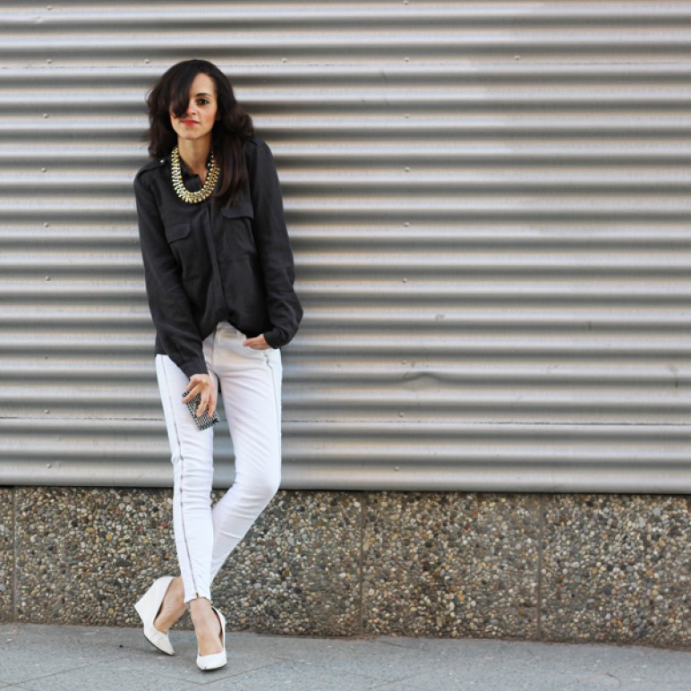 7 For All Mankind Black and White Collection