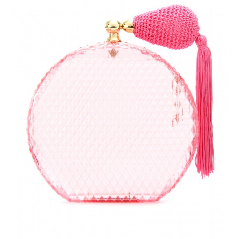A crush on : Charlotte Olympia Pink Scent Box Clutch