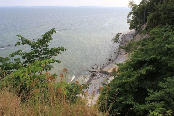 Weekend in Rügen Island - Chalk cliffs in Jasmund National Park Sassnitz