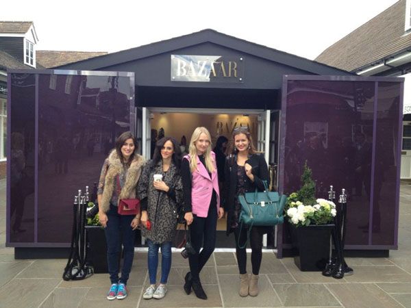 blogger-event-bicester-village-london-chic-outlet-harper's-bazar-pop-up-store
