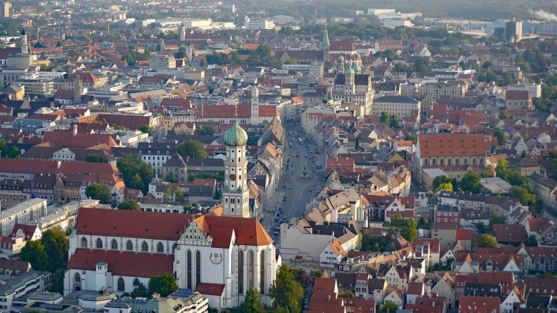 Augsburg romantic road itinerary Germany road trip