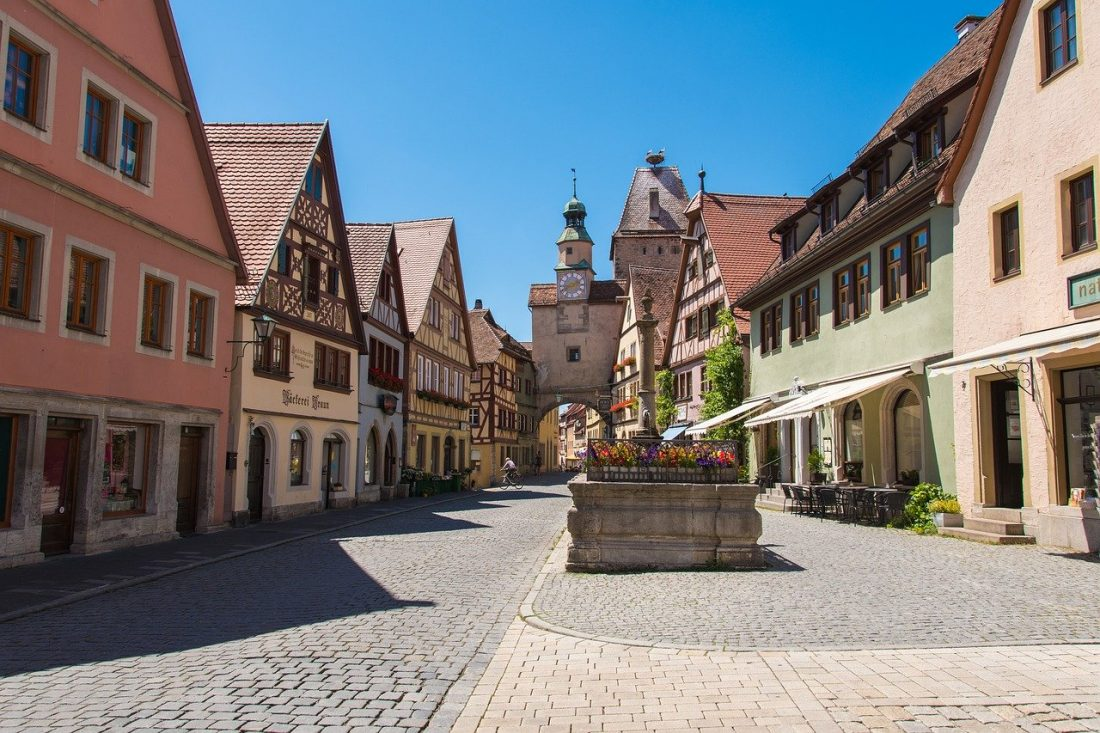Rothenburg Ob Der Tauber romantic road itinerary Germany road trip