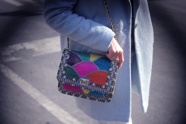 angel jackson shoulder bag disco rainbow jai bright