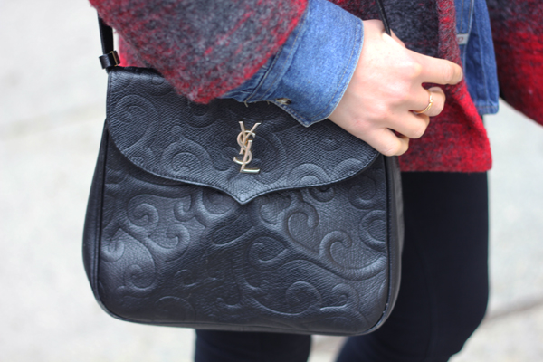 yves saint laurent vintage bag