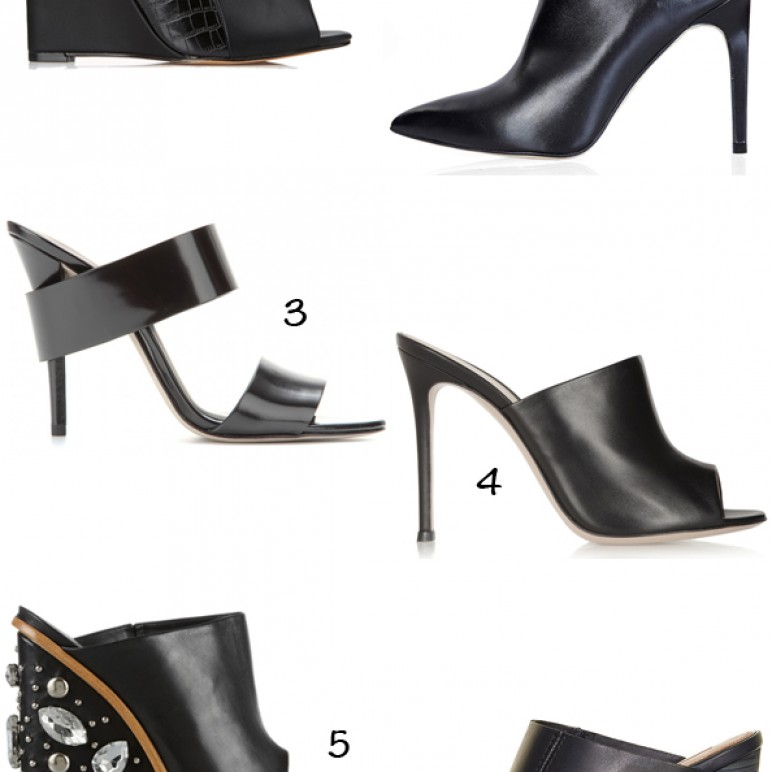 Spring Summer 2014 Trend : Craving for mules
