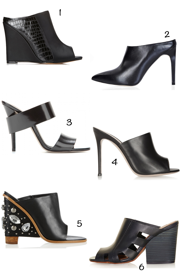 trend spring summer 2014 shoes mule mules topshop tibi forever 21 gianvito rossi net a porter my theresa