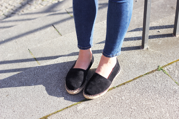 espadrille black wild leather pavement vikki