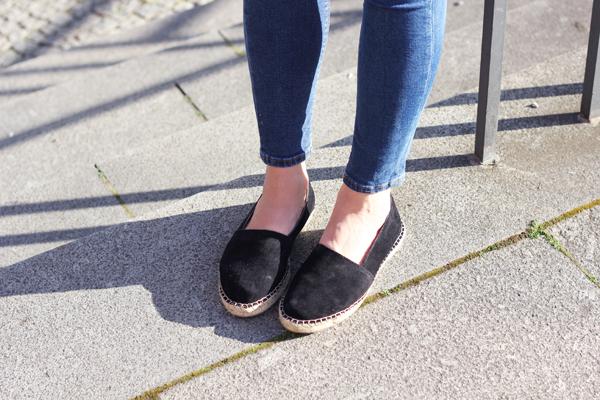 espadrille black wild leather pavement vikki