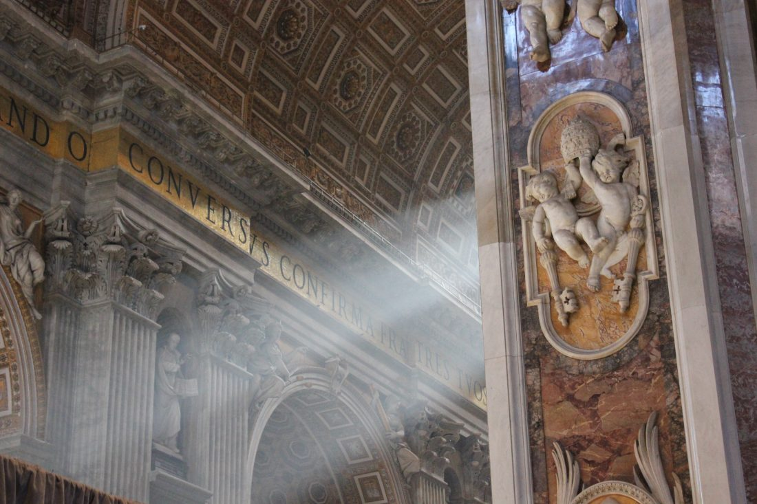4 Days in Rome - Tips for Rome St Peter s basilica 1