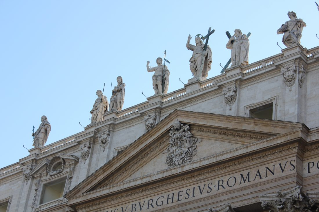 4 Days in Rome - Tips for Rome St Peters Basilica