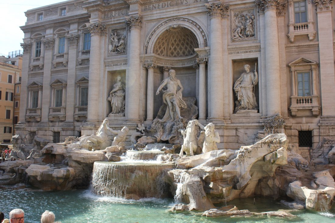 4 Days in Rome - Tips for Rome Trevi fountain