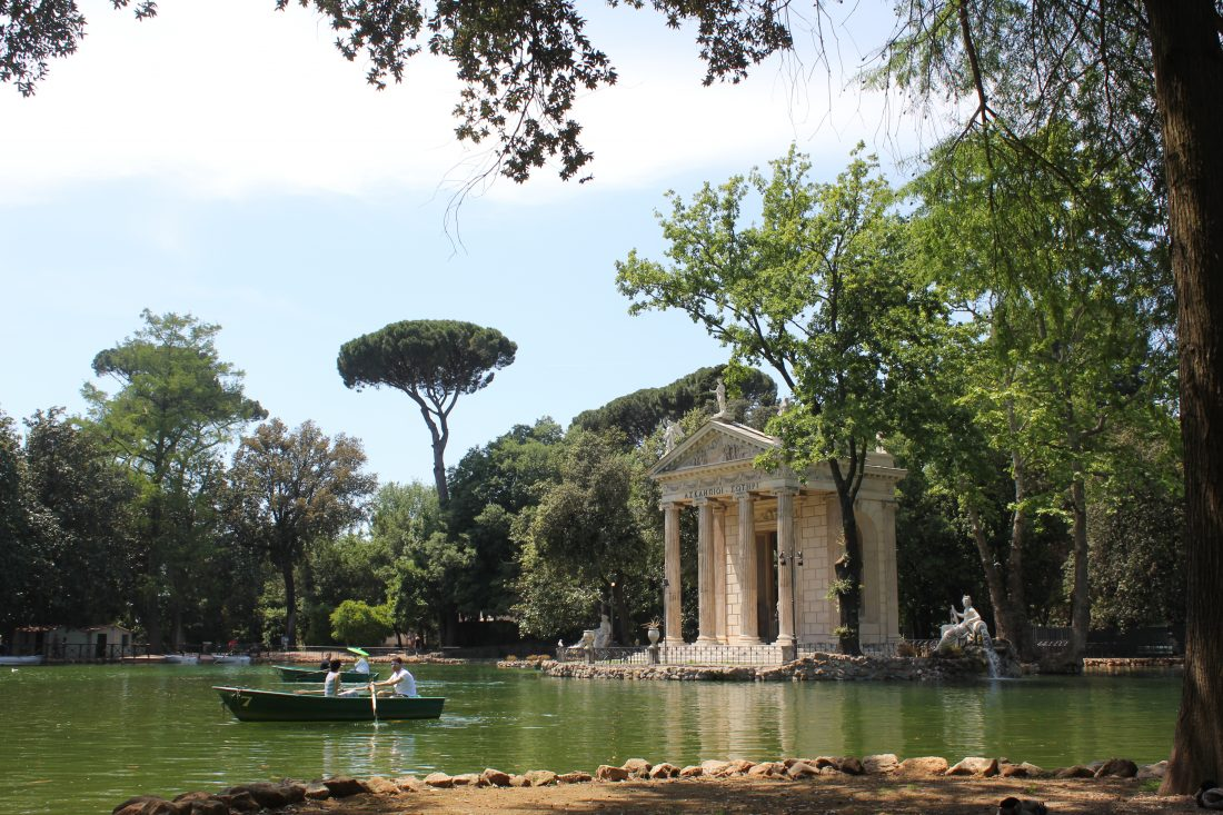 4 Days in Rome - Tips for Rome Villa Borghese Park