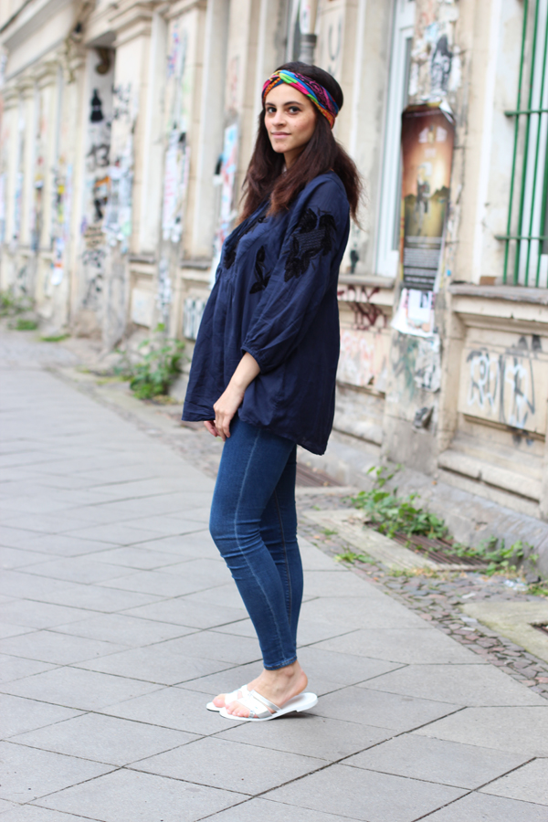amandine fashion blogger berlin germany esprit tunique boho collection