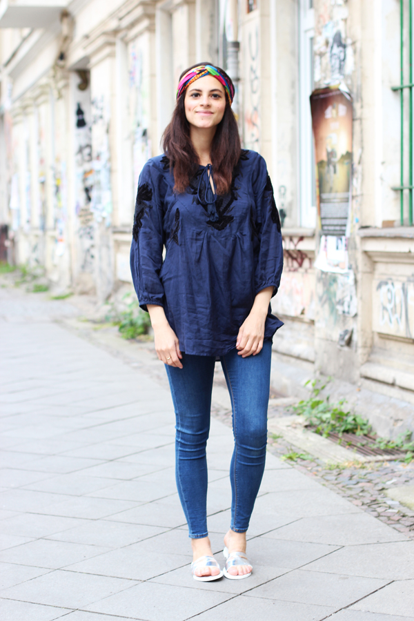 esprit boho collection blue amandine fashion blogger berlin germany