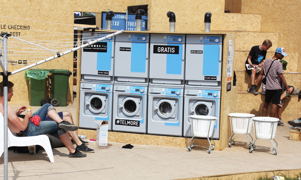 roskilde festival photo diary washing machine