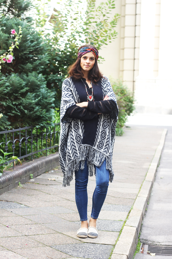 amandine fashon blogger berlin germany wearing oot outfit big knit cardigan esprit collection