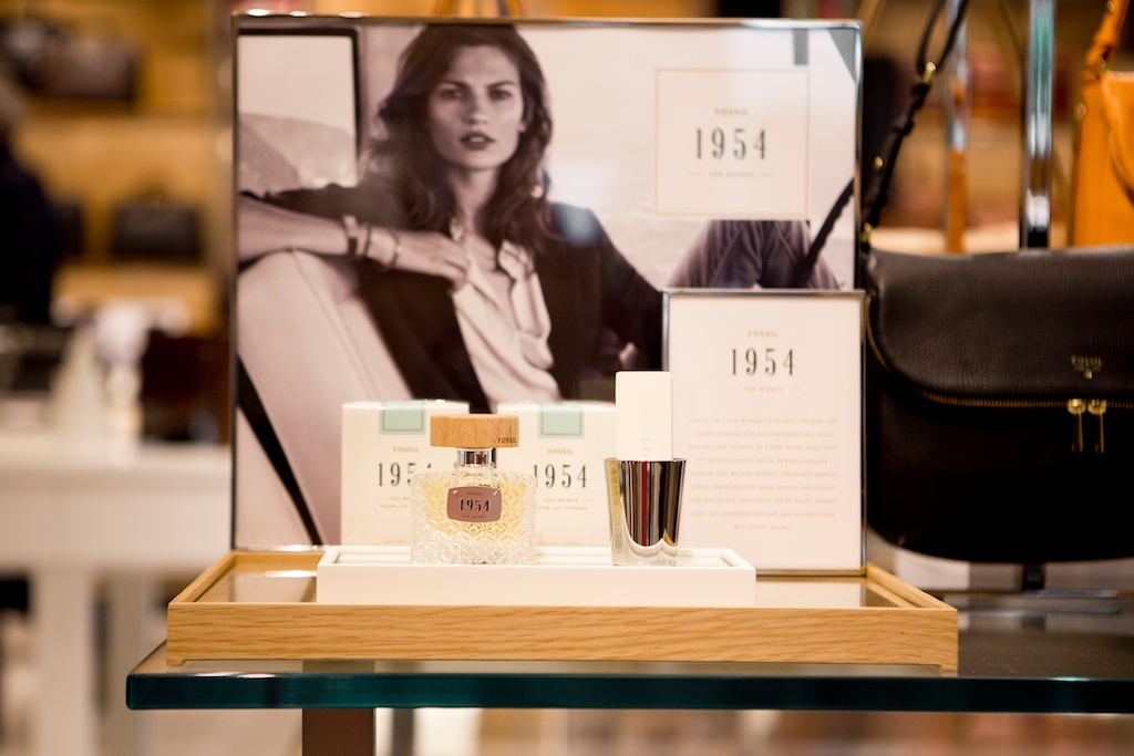 germany blogger event fossil store opening frankfurt 1954 perfume women