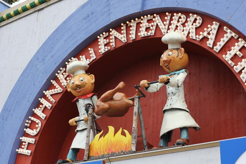 Oktoberfest wiesn 2014 entenbraten