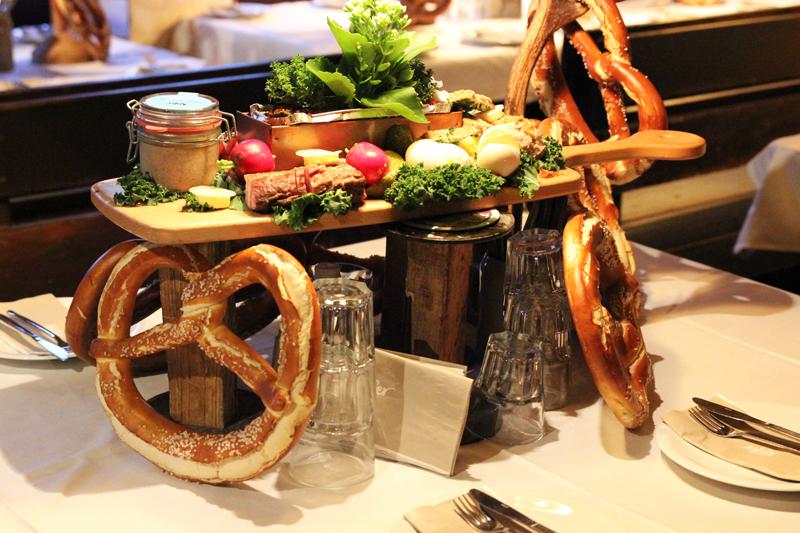 food at Käfer Oktoberfest Wiesn Munich