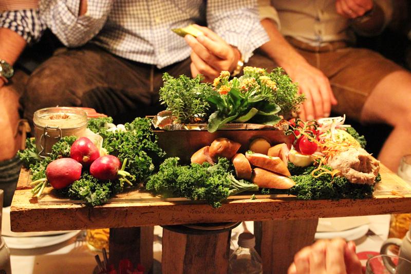food Käfer Munich Oktoberfest blogger event