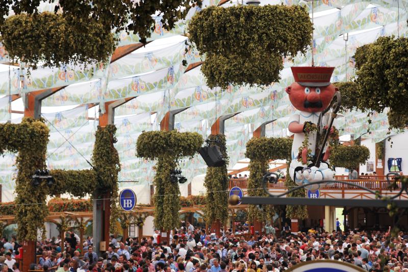 Hofbrauhaus Oktoberfest tent Wiesn