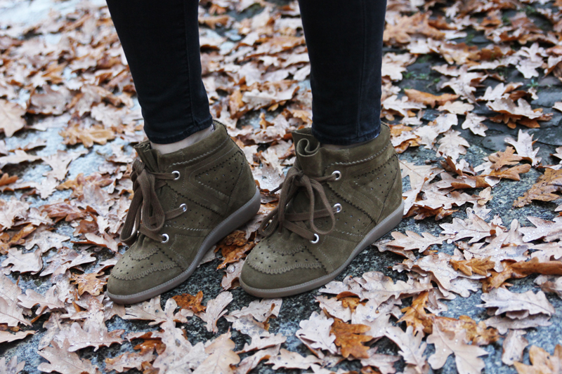 isabel marant bobby sneakers brown khaki