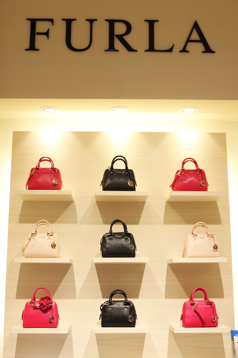 Furla store Outlet Wertheim Village designer outlet in Germany