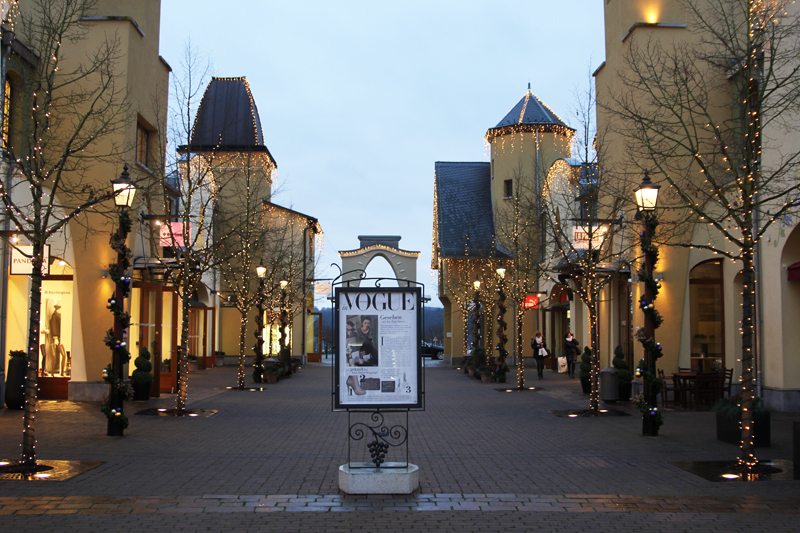 Outlet Wertheim Village designer outlet in Germany