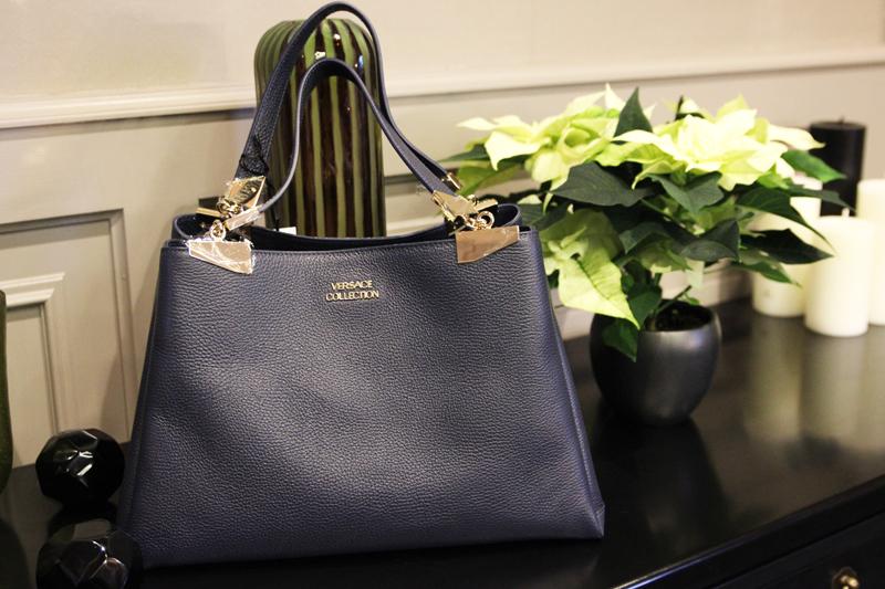 wertheim village versace shopping bag