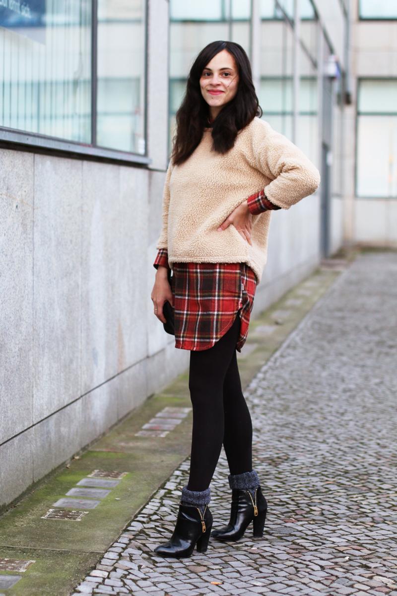 amandine fashion blogger berlin germany burton pearl woven check shirt 1