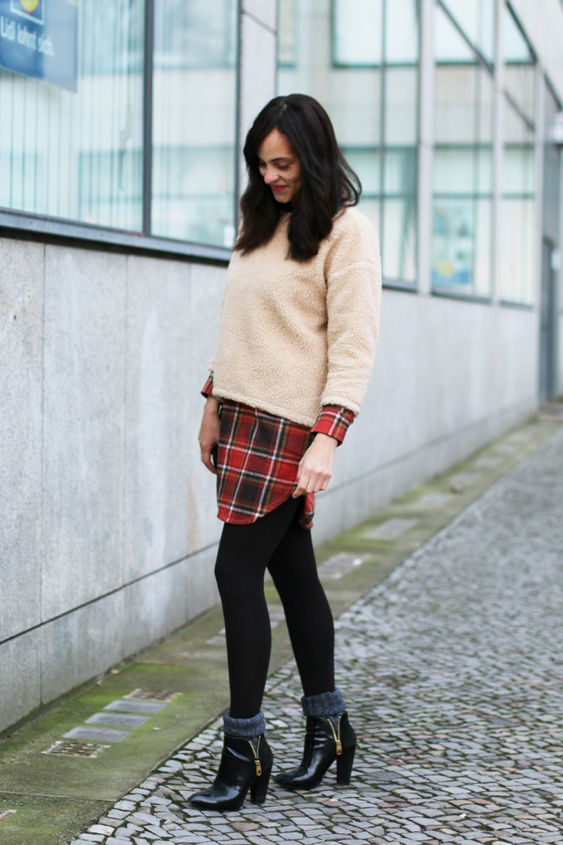 amandine fashion blogger berlin germany burton pearl woven check shirt 1