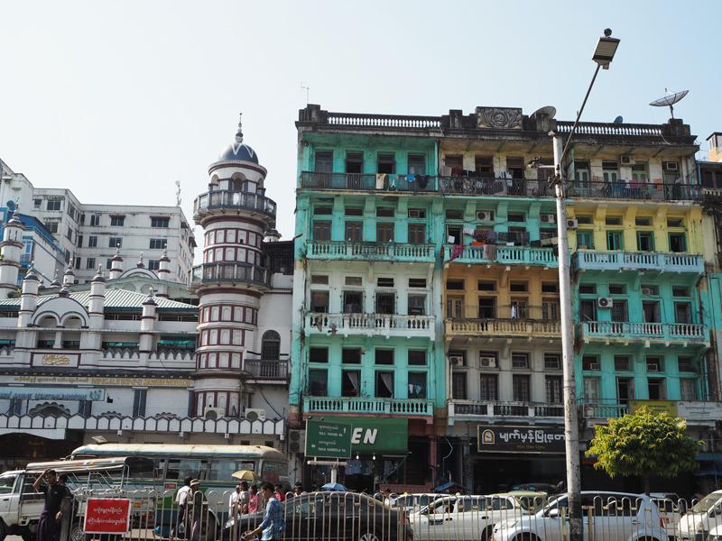 highlights of Myanmar Yangon City