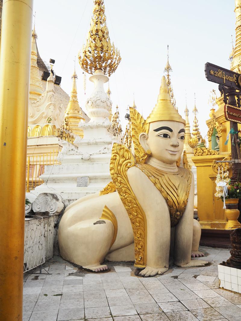 highlights of Myanmar Yangon City Shwedagon Pagoda Burma