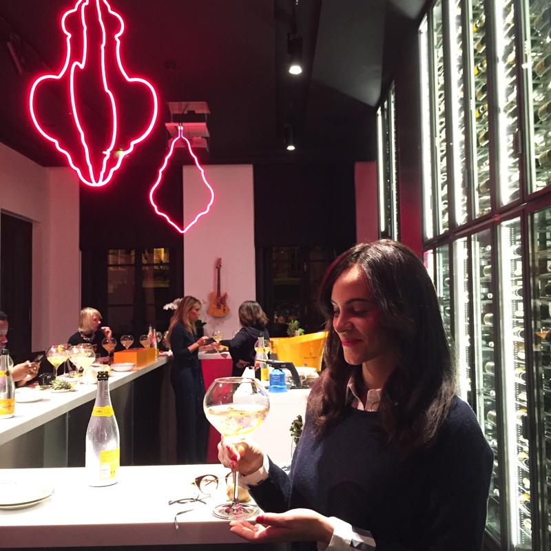 amandine ambassador rich champagne veuve clicquot