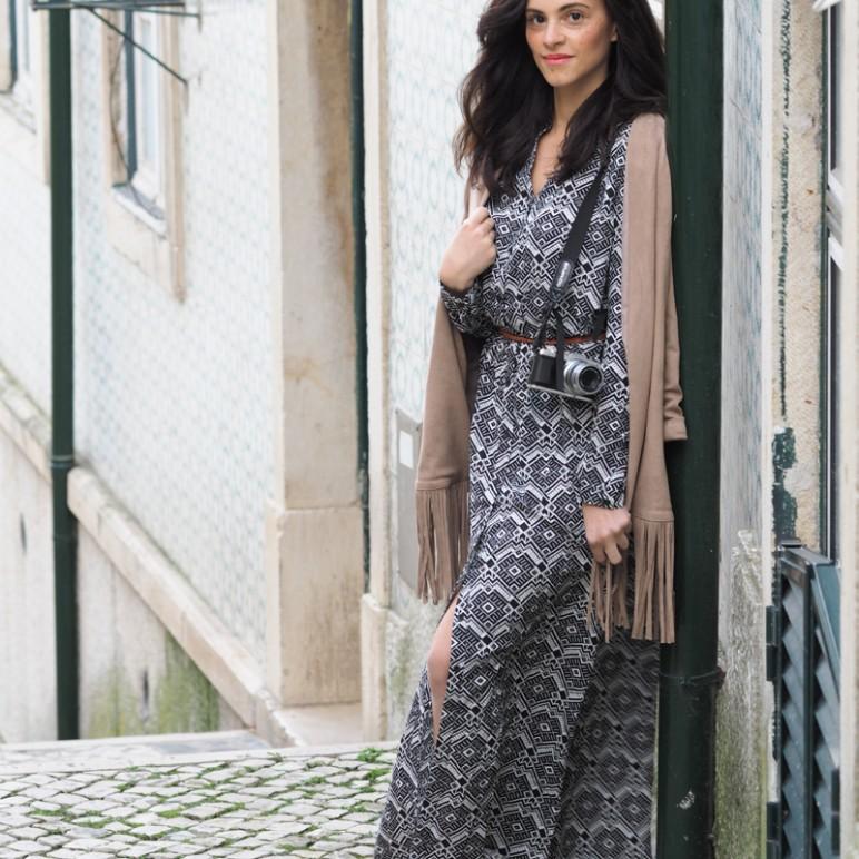 Maxi dress and Lisbon Photo Diary