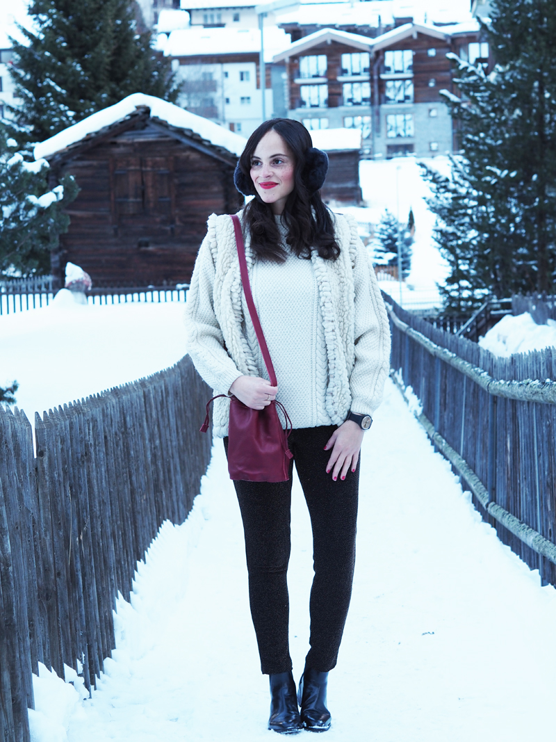amandine fashion blogger switzerland zermatt winter outfit shinola bag