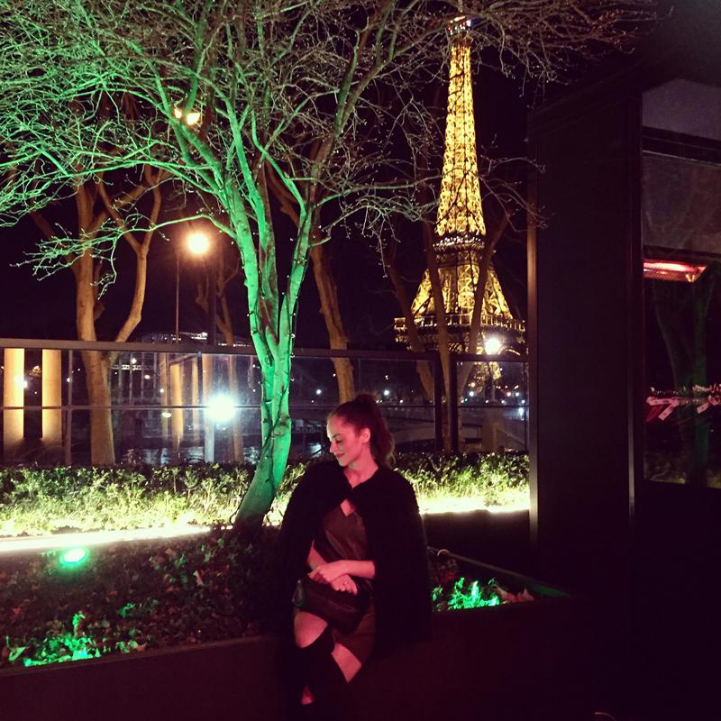 amandine lifestye blogger from berlin germany at monsieur bleu paris