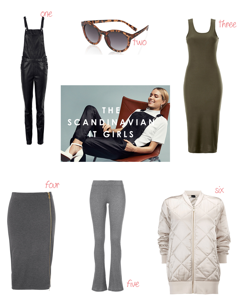 favourites pernille teisbaek for gina tricot scandinavian it girsl collection