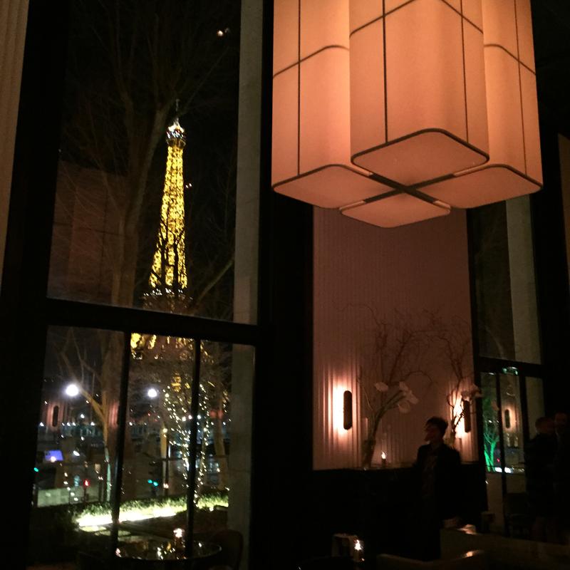monsieur bleu restaurant paris