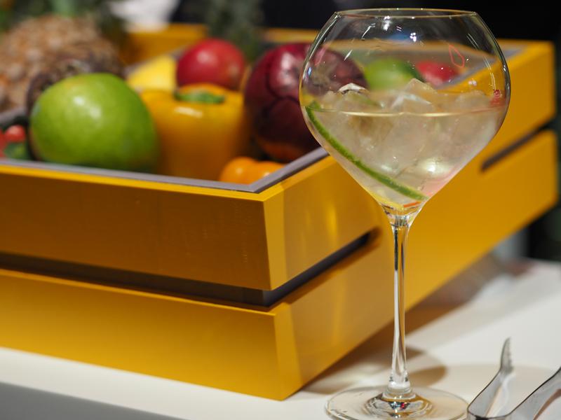 veuve clicquot rich champagne cocktail cucumber ambassador event hotel du marc