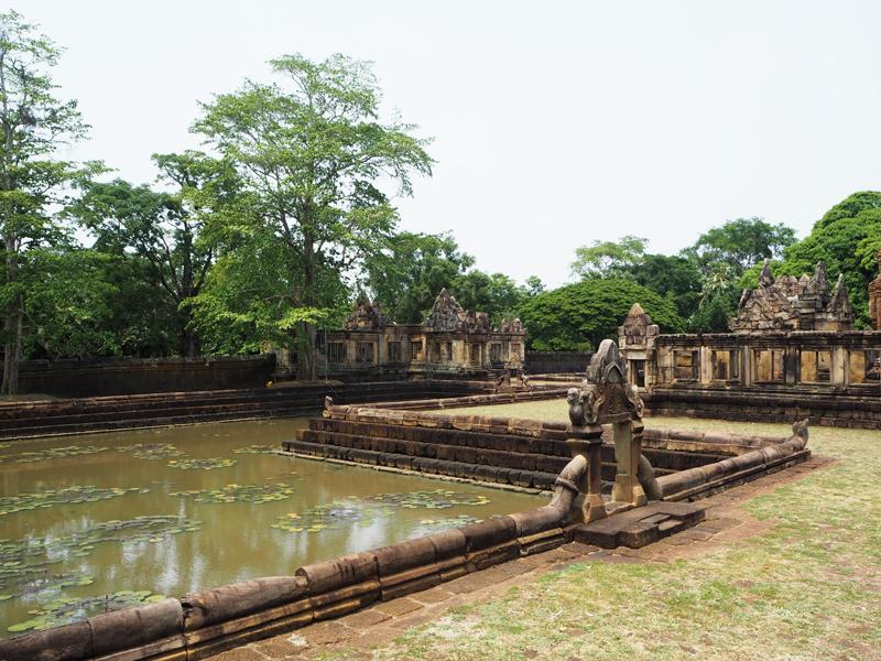 Prasat Muang Tam temple Burinam Thailand