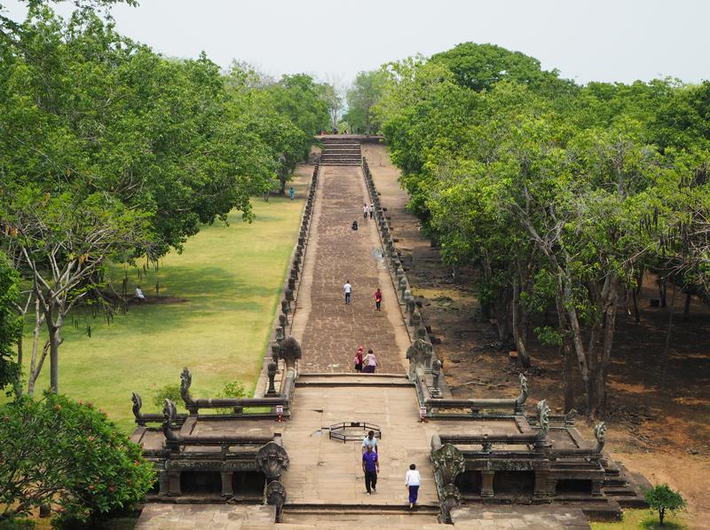 khmer architecture Phanom Rung Historical Park Burinam Thailand