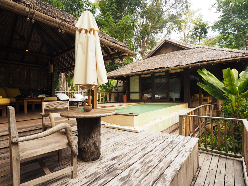 private pool villa hideaway Six senses Koh Yao Noi review