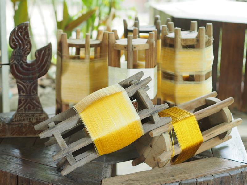 Thailand Academy 3 Queen Sirikit Sericulture thai silk Surin Thailand