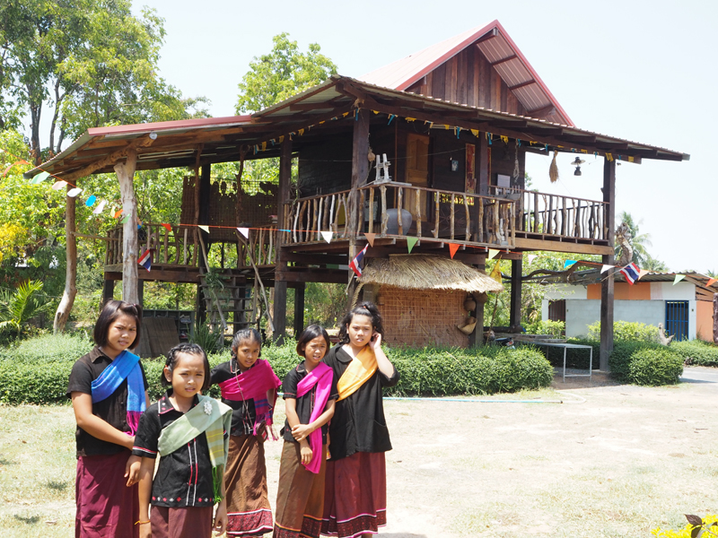 Traditional thai house Surin
